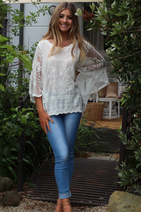 Jolene Top - White