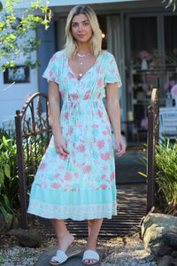 Apple Martini Midi Dress