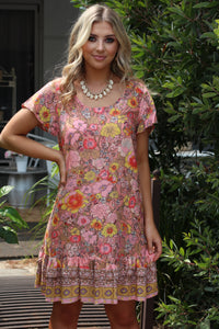 Woodstock Mini Dress