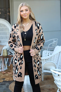 Wild Things Cardigan - Camel