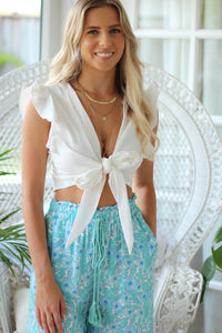 Mystic Mini Dress - Mint