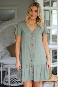 Wind In The Willow Mini Dress