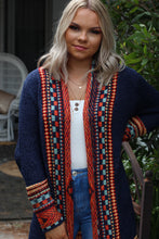 Weekend Wanderer Cardigan - Navy