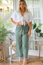 Charmed Mini Dress - Sage