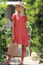 Home Girl Mini Dress - Rust