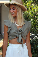 Hannah Top- Olive
