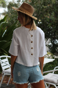 Luxe Top - White