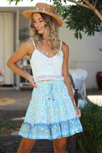 Clear Waters Mini Skirt