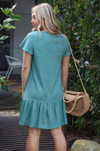 Home Girl Mini Dress - Teal