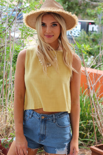Esther Top - Yellow