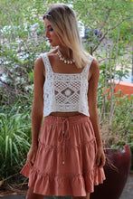 Free World Mini Skirt - Rust