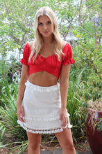 Shake It Mini Skirt - White