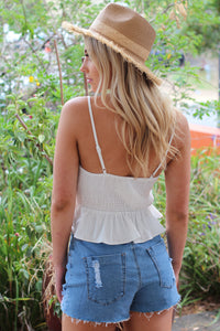 Mosman Top - White