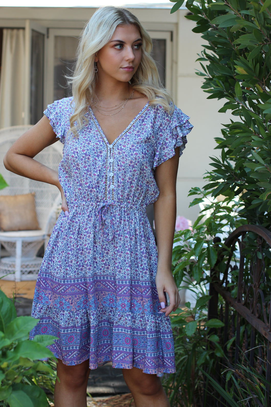 Secret Garden Mini Dress