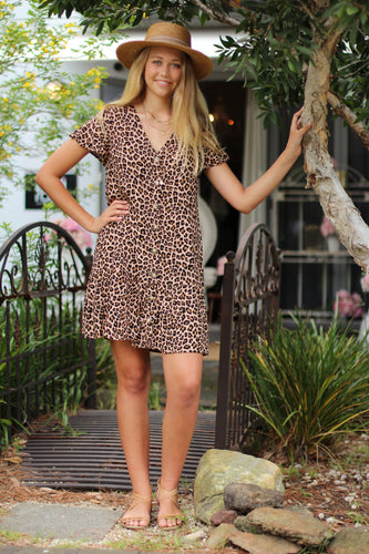 Eye of the Tiger Mini Dress