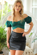 Boysenberry Midi Skirt - Purple
