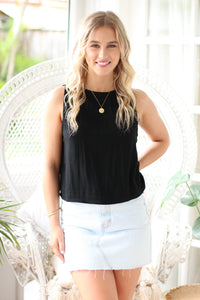 Cosmo Mini Skirt - Navy