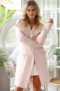 New York Sweater - Hot Pink