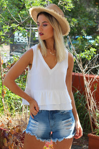 Emilee Top - White