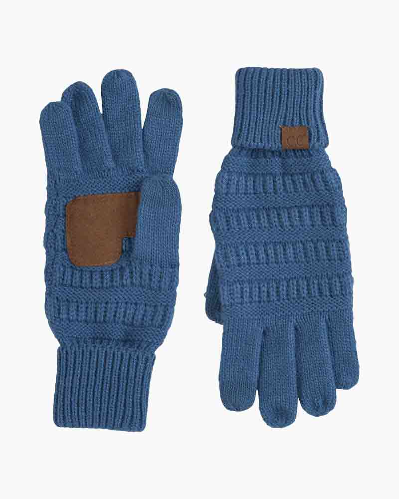 CC Knit Gloves (Multiple Colors)