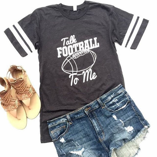 Talk Football To Me Graphic Tee