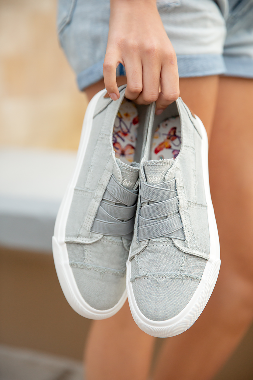 Blowfish Sneakers in Sweet Gray