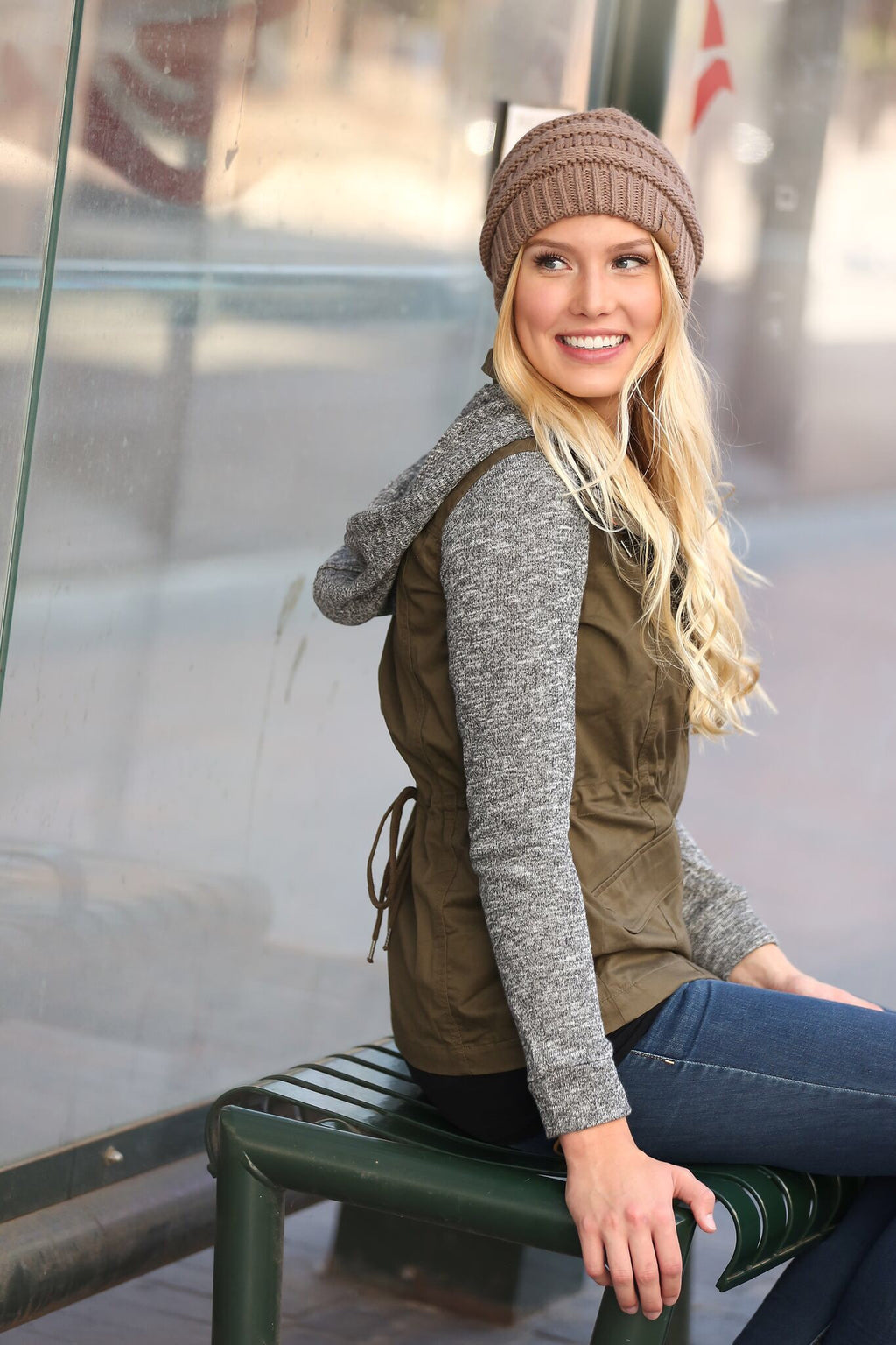 Easy to Love Hooded Jacket