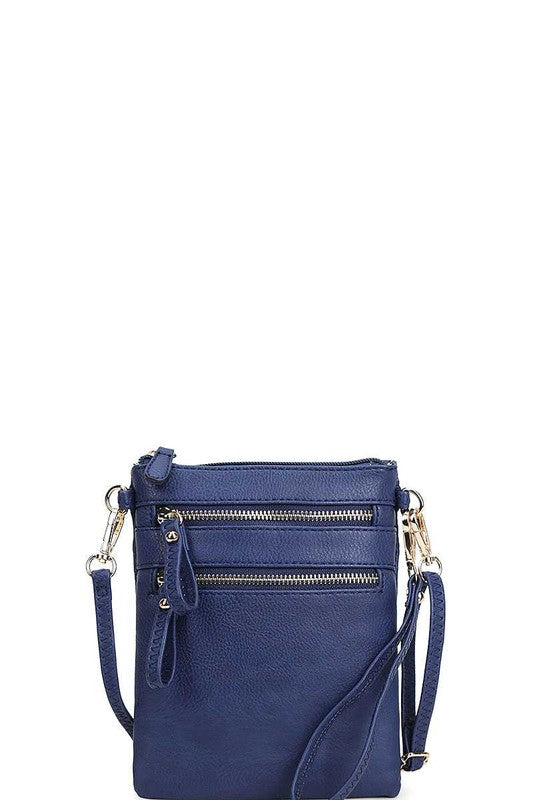 Worth The Wait Cross Body Bag in Navy