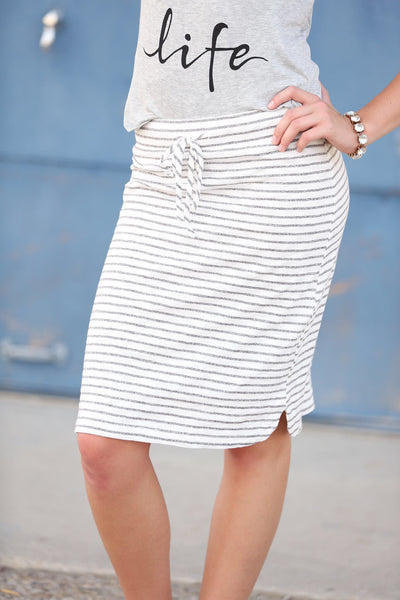 Your New Favorite Striped Skirt