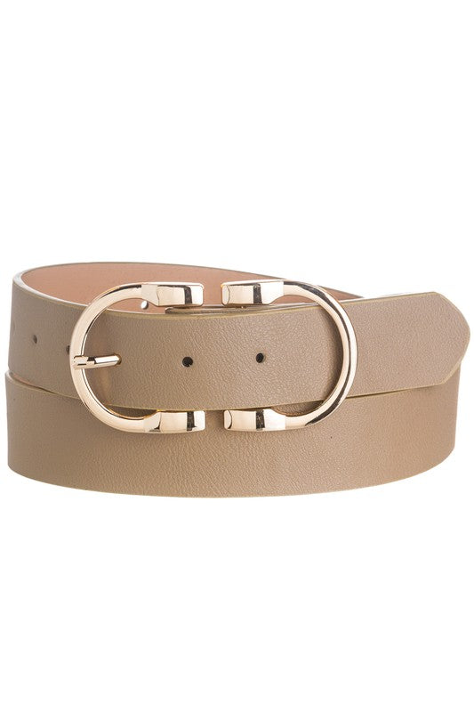 Always a Favorite Belt in Taupe