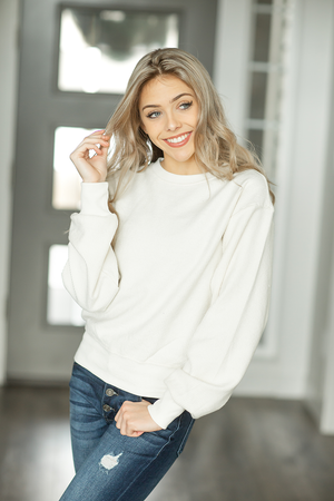 I Need You Sweater in Ivory