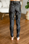 Heart Full Leggings in Gray Camo