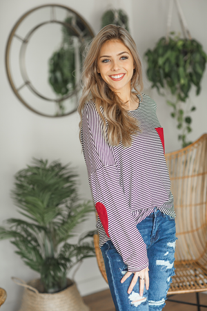 Love Me Forever Striped Top