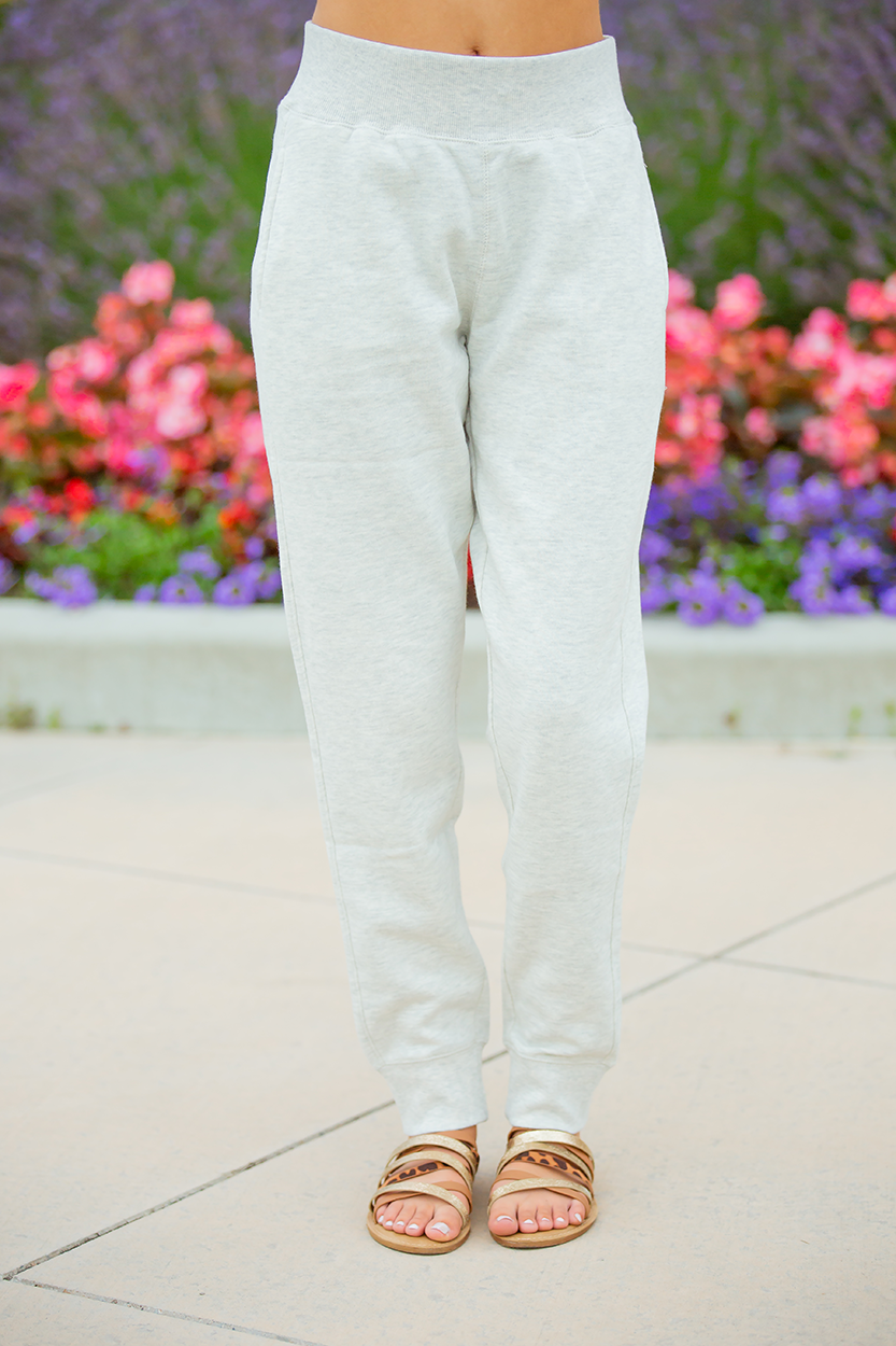 Lazy Days Joggers in Oatmeal