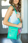 Meet Me For Brunch Cross Body Bag in Teal
