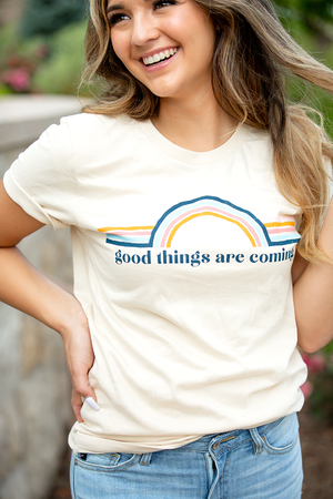 Good Things Are Coming Graphic Tee