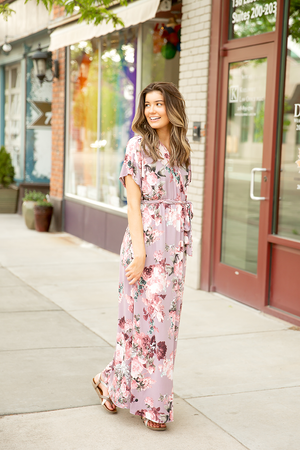 Fancy In Floral Maxi Dress