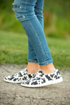 Very G Goes With Everything Slip on Sneakers in Black Spots