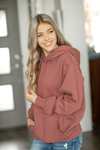 Girlfriend Runaway Hoodie in Dusty Mauve