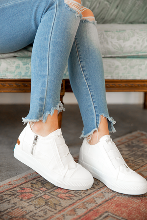 Blowfish Sneakers in White High Rise
