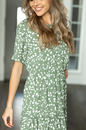 The Good Ones Dress in Olive