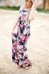 So Long Floral Maxi Dress