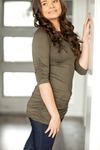 **LIVE SALE DEAL** Thinking About It 3/4 Sleeve Scrunch Tunics (Multiple Colors)
