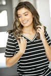 Pick A Favorite Striped Top in Black and White