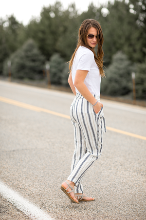 Always on My Mind Linen Pants