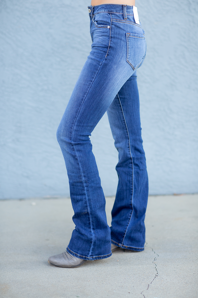 KanCan Always Satisfied Boot Cut Jeans