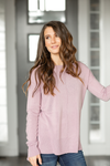 Afternoon Crush Sweater in Lavender