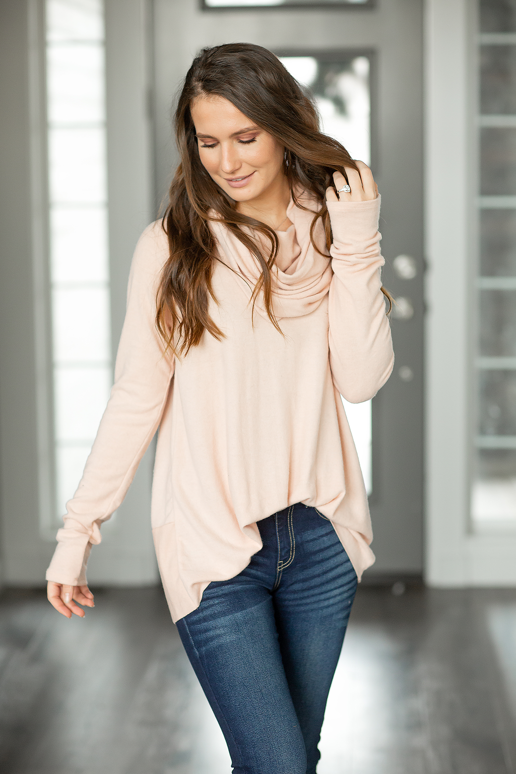 One Day at a Time Top in Blush