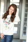 Merry and Bright Top in White