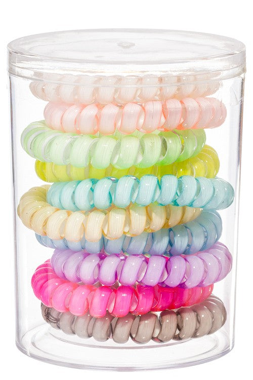 Classic Boutique Coil Hair Ties